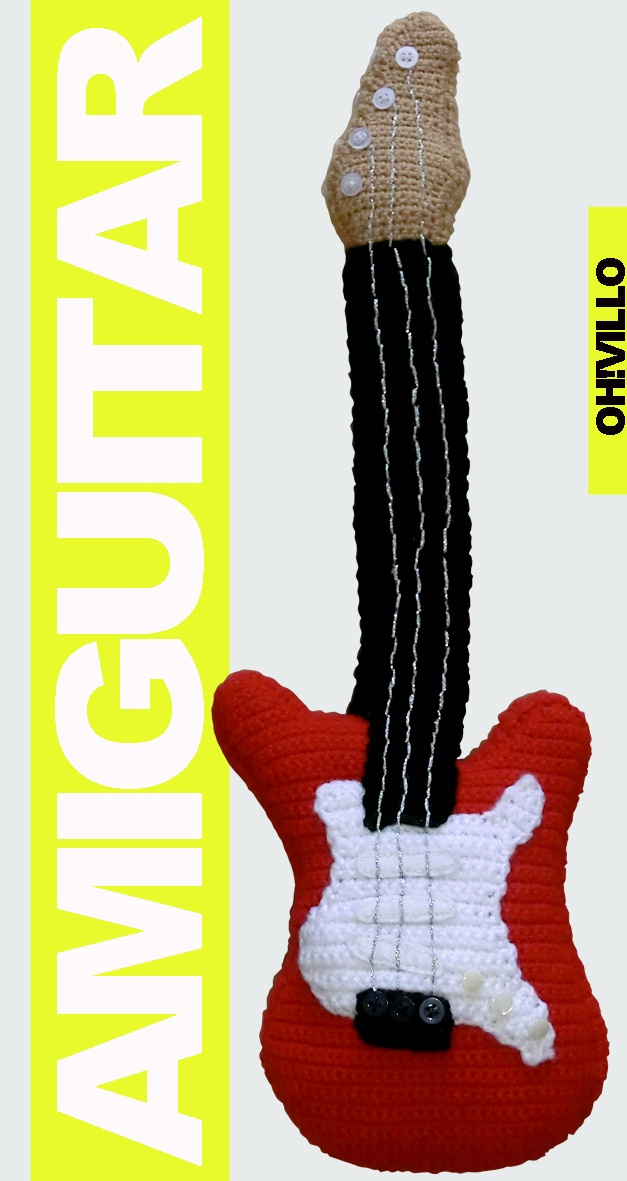 Amigurumi Guitar : amigurumi electric guitar Crochet ~ ROCK & ROLL \m ...