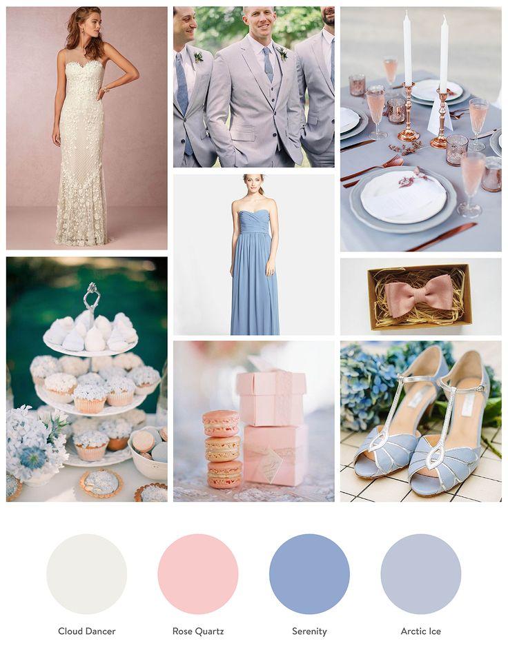 71 best Rose Quartz & Serenity | Pantone Color of the Year 2016 ...