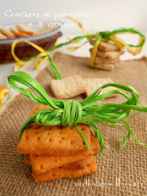 crackers al pomodoro
