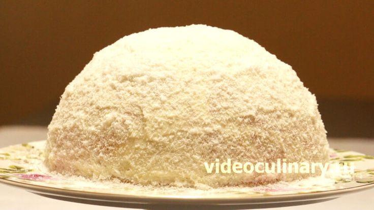 Торт Рафаэлло- кокос, шоколад, сливки