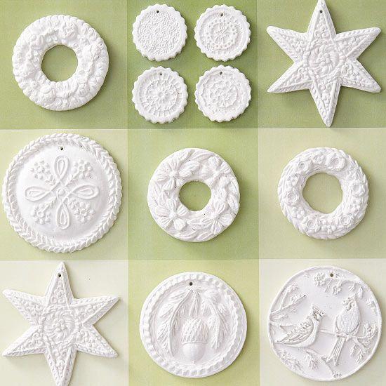 Clay Creation Ornaments