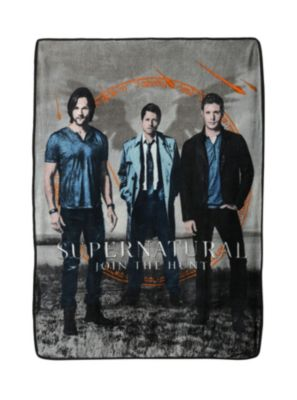 Supernatural Trio Fleece Throw