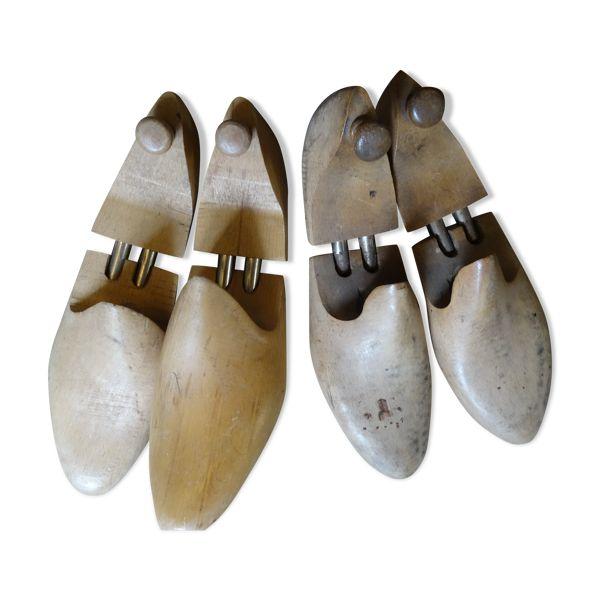 Lot de 2 paires d'embauchoirs à chaussures   Selency en 2021 ...
