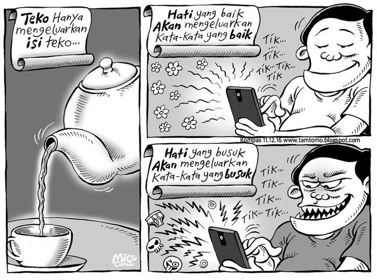 Mice Cartoon - Kompas Minggu Edisi 11 Desember 2016: Isi Teko