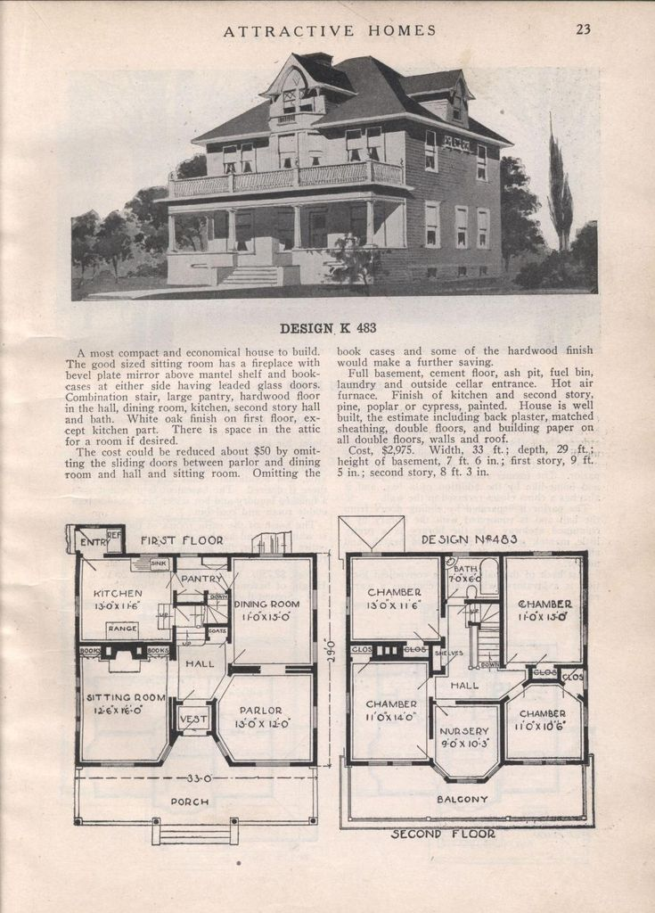 attractive homes vintage house plansvintage houseskit homesarchitectural printsfloor plansschool