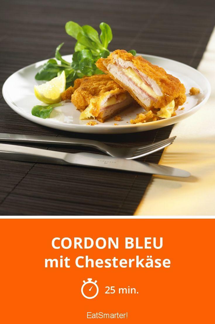 Cordon bleu - mit Chesterkäse - smarter - Zeit: 25 Min.   eatsmarter.de