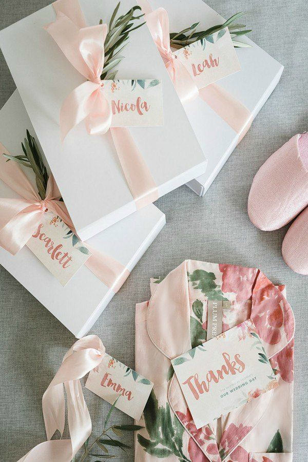 Bridesmaid Gifting | Plum Pretty Sugar