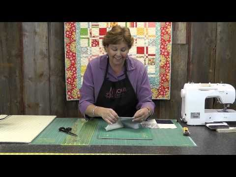 Disappearing 4 Patch Quilt Block Tutorial-run to the sewing room now!