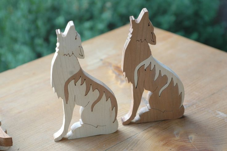 """""""Coyote"""" from Southwest Scroll Saw Patterns by Patrick Spielman and Dan Kihl"""