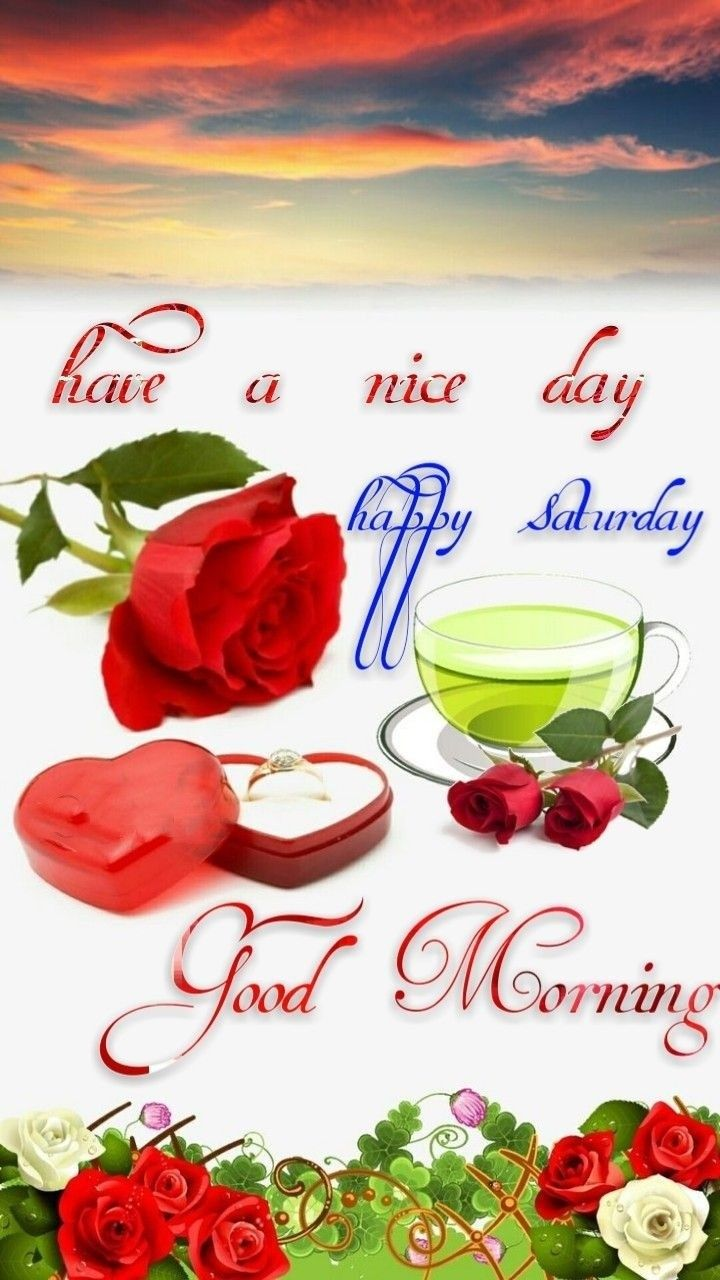 Pin by MHAFUJ Alam on Good morning Happy saturday, Fb