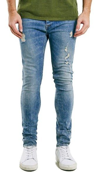 Topman Ripped Stretch Skinny Fit Jeans Affiliate Link