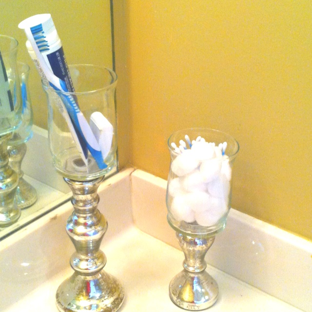 Fit Crafty Stylish And Happy Guest Bathroom Makeover: 67 Best Candlestick Makeover Images On Pinterest