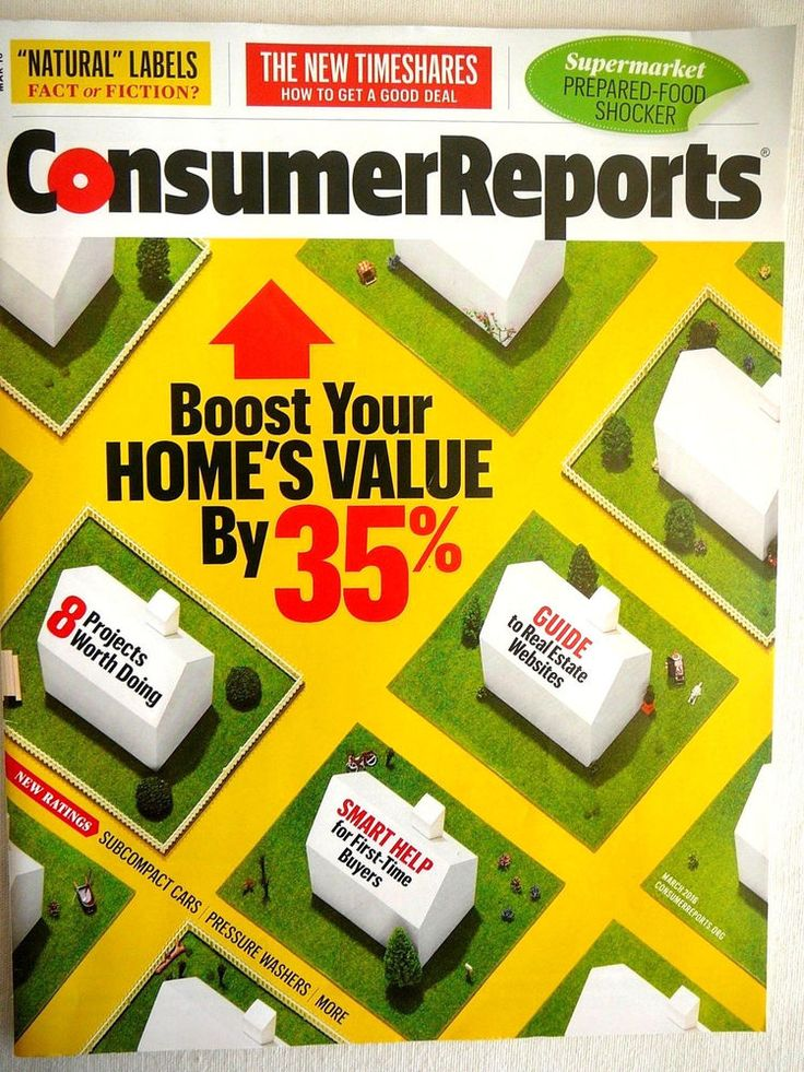 CONSUMER REPORTS 2016 March NEW 1ST Time Home Buyers