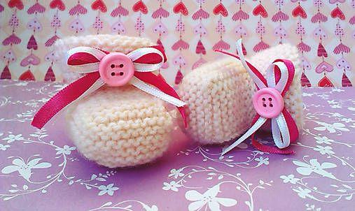 lurga / Papuchle No2 knitting baby boots