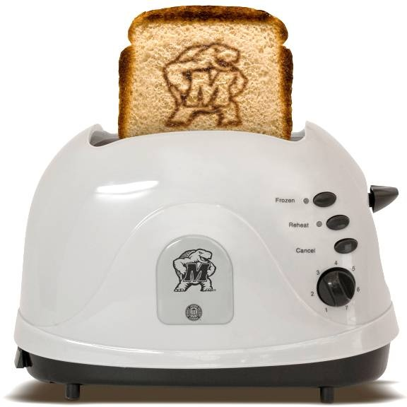 University of Maryland Terrapins - brand your bread with this toasterTexas Tech Universe, Mississippi States Bulldogs, Arkansas Razorbacks, Breads, Pittsburgh Steelers, Toaster, Ohio State, Texas Longhorns, Univers Of Kansas