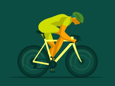 Bike test dribbble