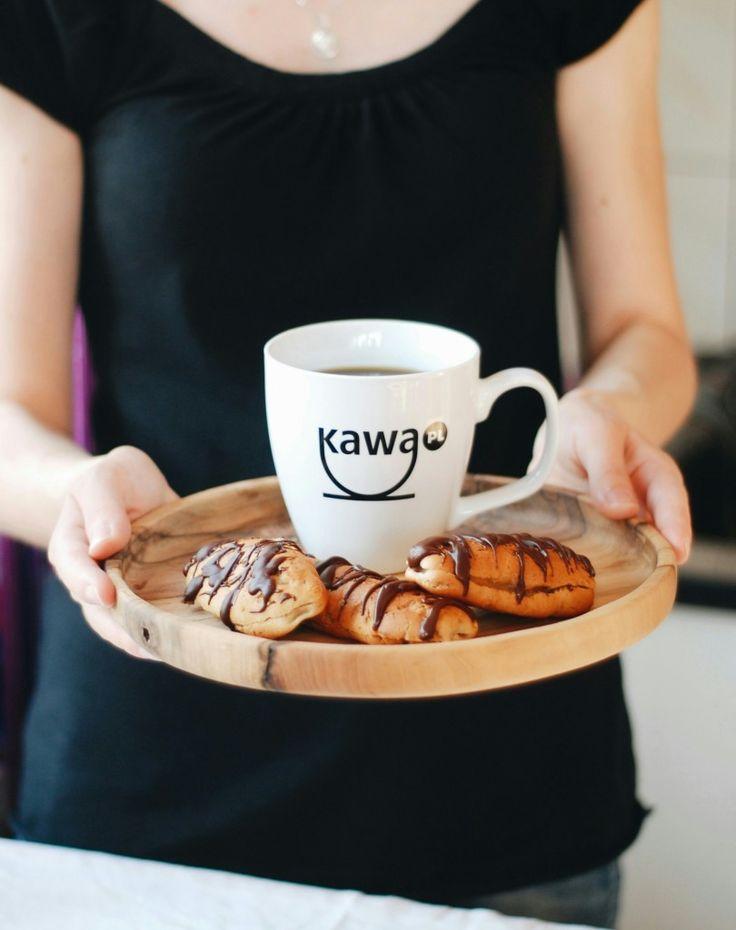 Prezentujemy przepis na eklerki kawowo-marcepanowe. Przepis na kawa.pl - po kliknięciu w zdjęcie.