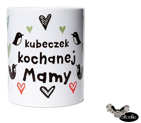 kubek kochanej Mamy, kubek ceramiczny 330/450ml