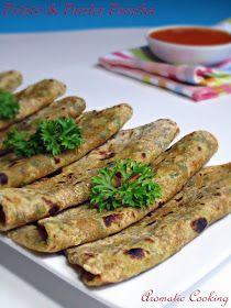 Roti with potato