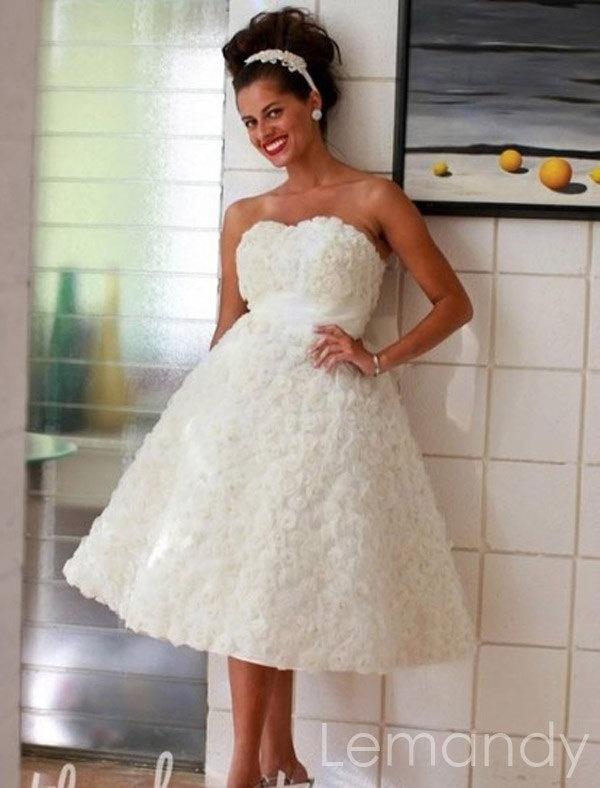 Mejores 146 imágenes de Short wedding dresses en Pinterest ...