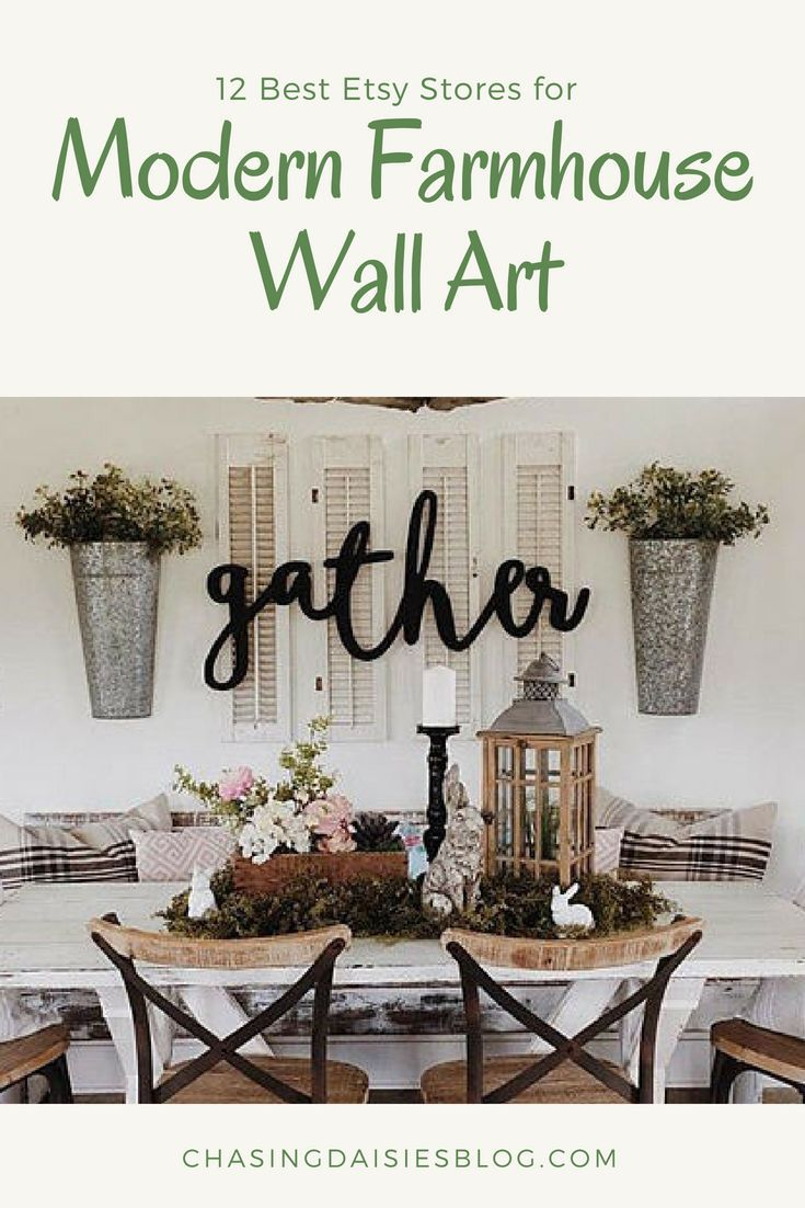 The Best Etsy Stores For Modern Farmhouse Wall Art Farmhouse Wall Art Kitchen Farmhouse Wall Art Living Room Farm House Living Room