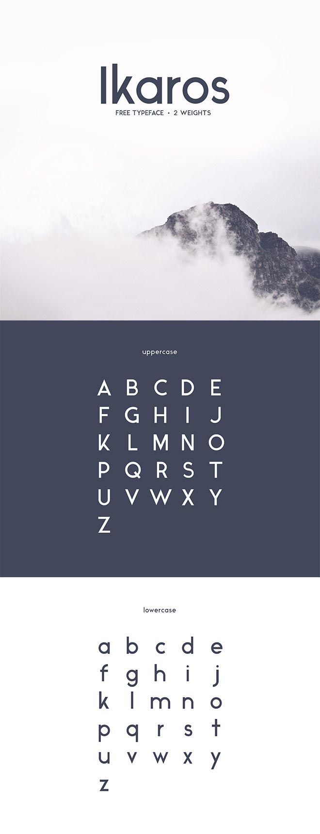 I want to use this font for my posters, because it is a very simple and minimalistic, but at the same time a strong and solid font.