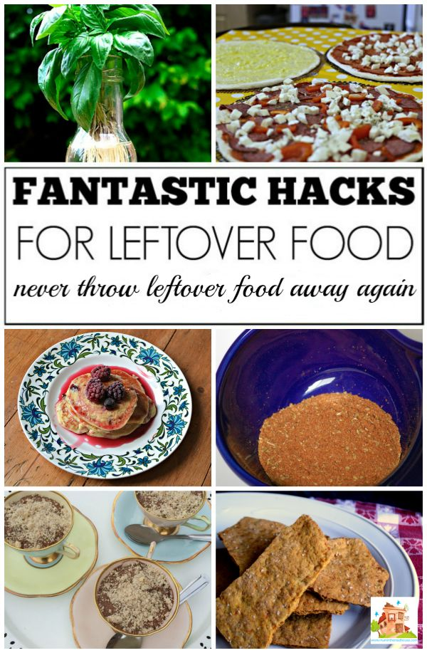 Fab hacks for using up leftover food - Family approved. Never throw away leftovers again, these fab food and kitchen hacks will get your mouth watering and they are family approved.