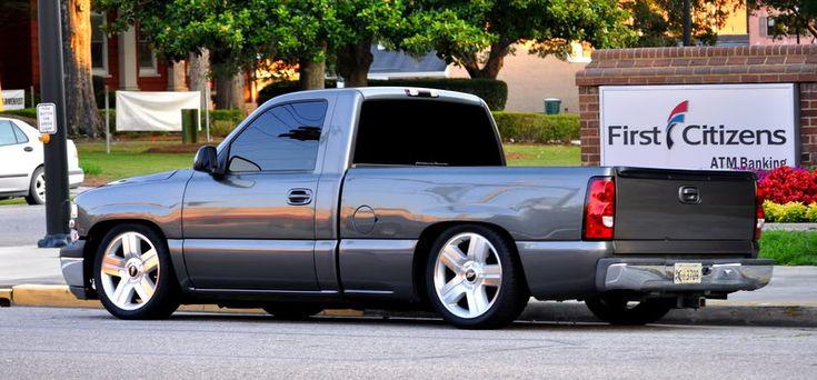 "99 rcsb storm grey silverado lowered 5/8 drop on brand new ltz 20"" rims and tires - PerformanceTrucks.net Forums"