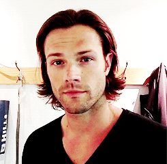 (gif) Jared Padalecki Winks. This gif is dangerous. DEAD HELP! AHHH HELL *THUD* << you guys ok? Oh hey Jared what's up-*collapses*