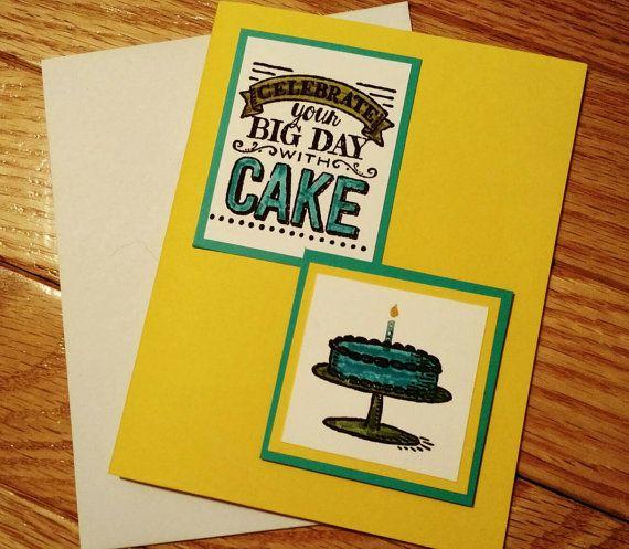 Happy Birthday card Birthday card Birthday by StamptasticCards