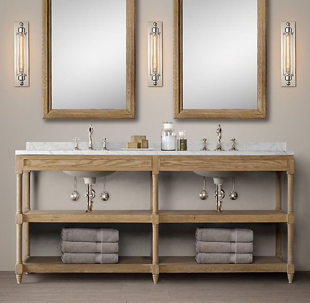 How To Build A Custom Vanity {Without The Custom Price Tag