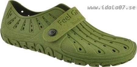 Billig Dam Barefooters Classic Cactus Grån Cork Bäst