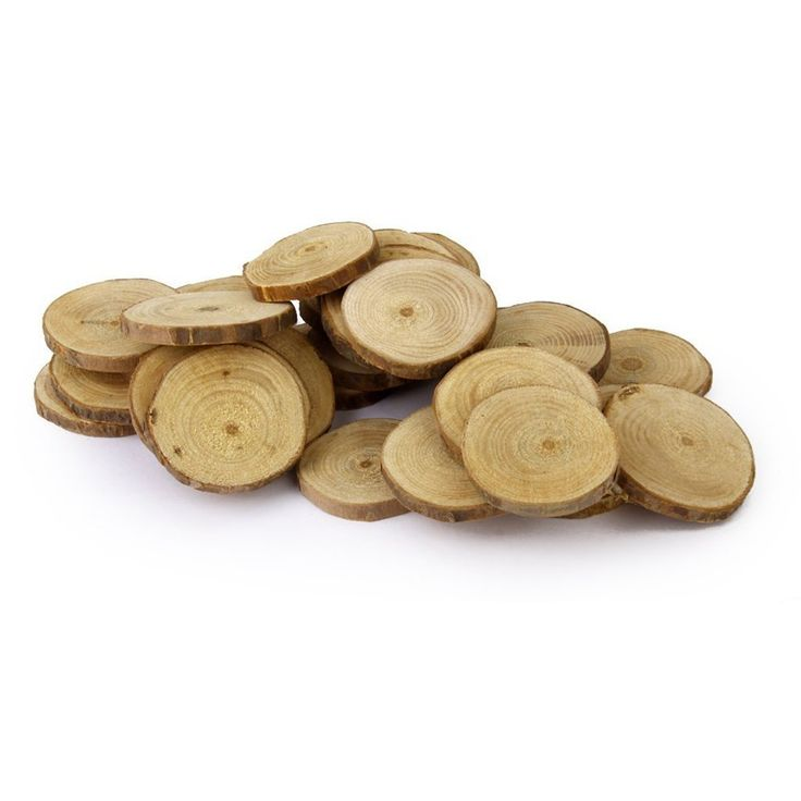 WINOMO Round Wood Discs Log Slices 4-5CM 30pcs * Want additional info? Click on the image.