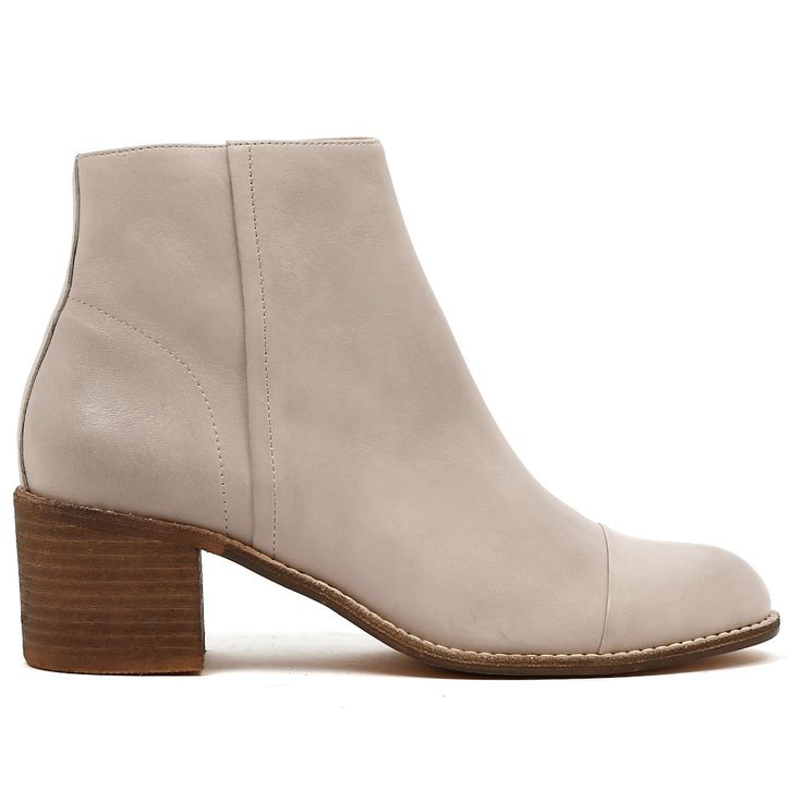BOHO by Mollini. This boot offers a bit of everything.  It's totally on trend, note thick, block heel and rounded toe shape. Its available in tonal Navy and Misty. Its edgy and classic, this leather ankle boot will never go out of style. Play them up with a boho dress or torn denim and striped tee. 5.5cm heel. Leather upper, leather lining. Manmade sole. http://www.cinori.com.au/boho/w1/i1218138/