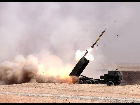 World Best Artillery Rocket System Action Compilation - HIMARS M142