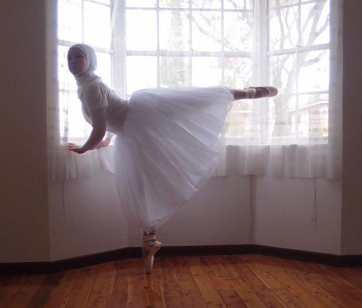 Muslim Teen Wants To Be First Professional Hijabi Ballerina