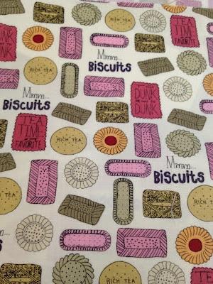 Tea biscuits print