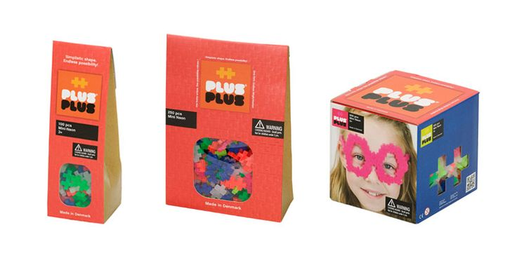 Plus Plus bursts out of the blocks - from £7.50 at http://www.uptothemoon.com/toy/plus-plus-mini-neon-building-set-100-piece/