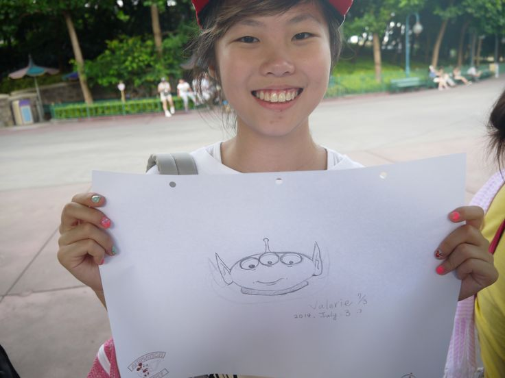 Disney Drawing Class