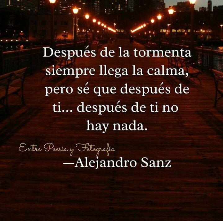 Alejandro Sanz*