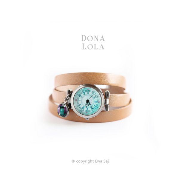 Dona Lola (drzwi) - bransoletka zegarek w Ewa-Saj  na DaWanda.com #niezchinzpasji