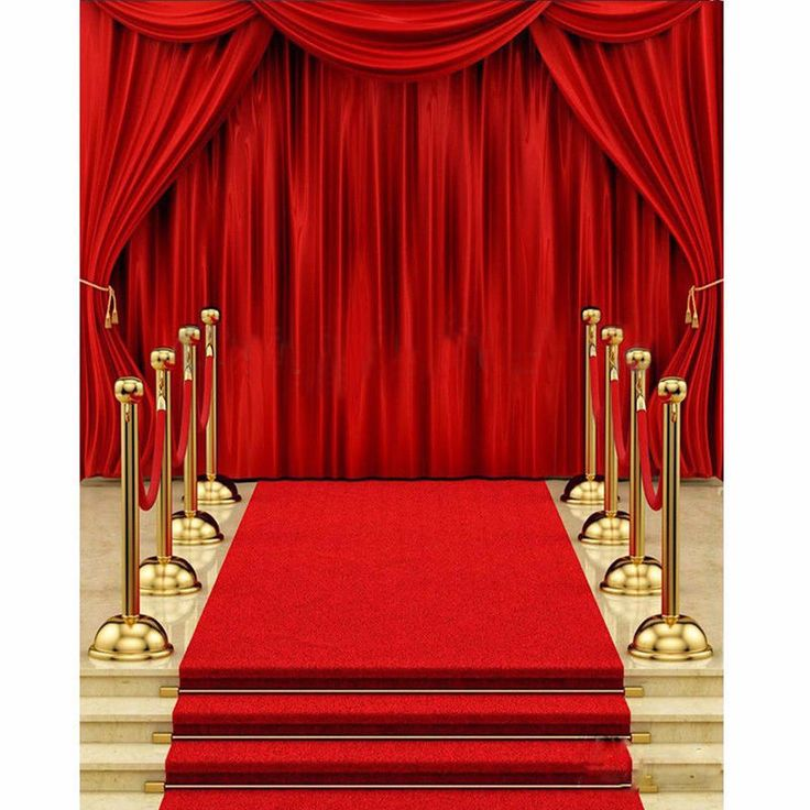 5x7FT-Vinyl Red Carpet Curtain Backdrop Photography Background Photo Studio Prop #UnbrandedGeneric