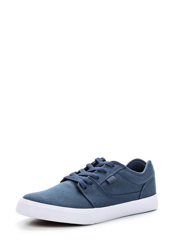 #Кеды #DCShoes. Цвет: синий. Материал: текстиль.Сезон: Весна-лето