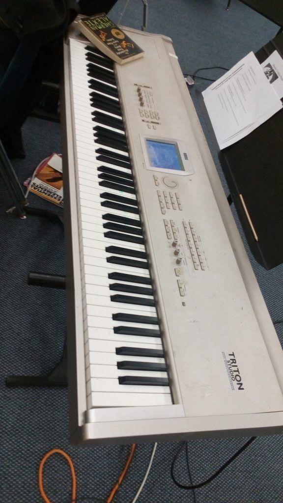 Korg TRITON Studio 88-Key Workstation Keyboard review   Music Theory