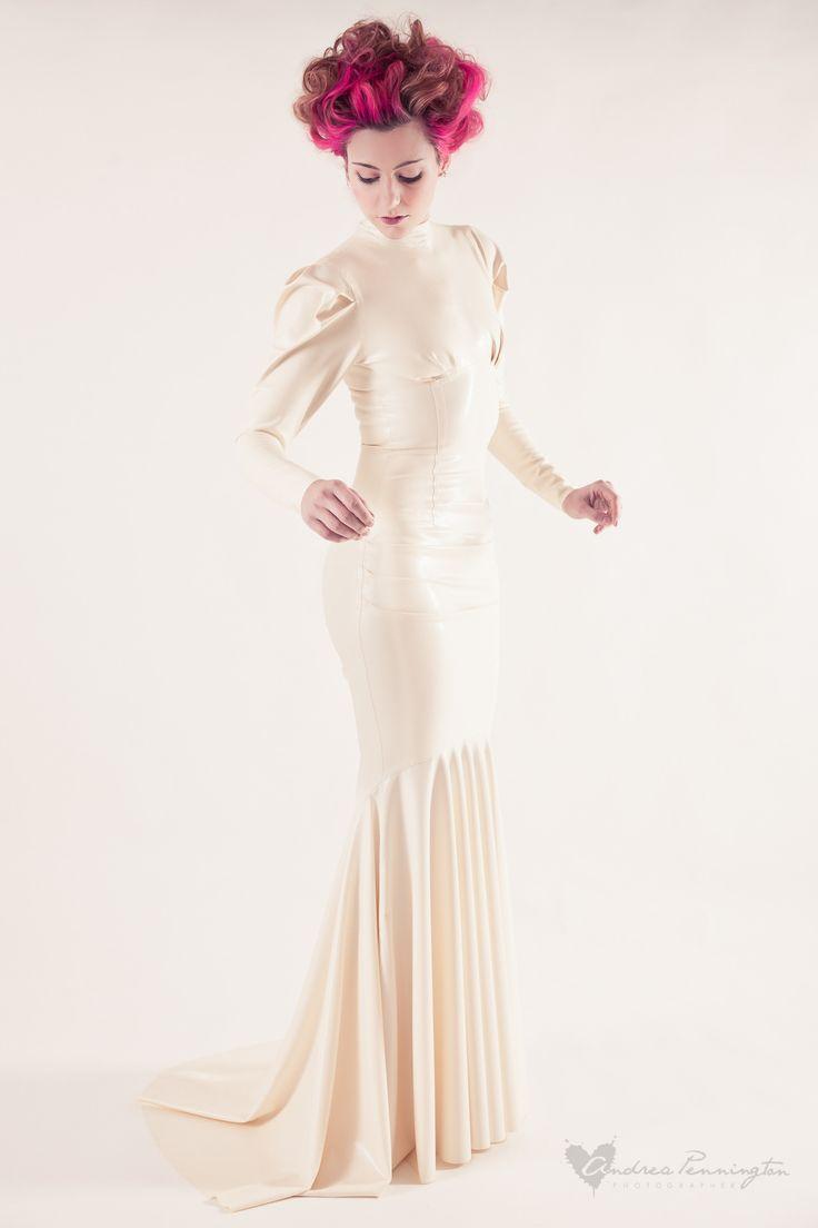 Latex wedding dress  Pin by Maria Sergeeva on Latex and fetish  Pinterest  Latex Latex