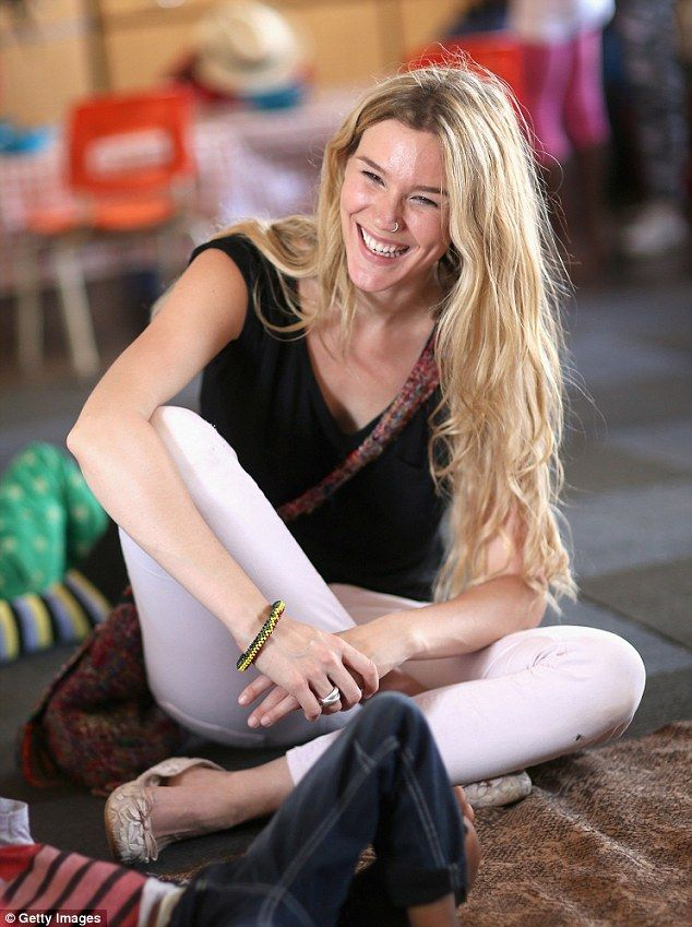 Radiant: Joss Stone was in high spirits as she paid a visit to Phelisanong Children's Home...