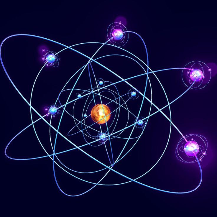 счет электроны и атомы картинки монитор