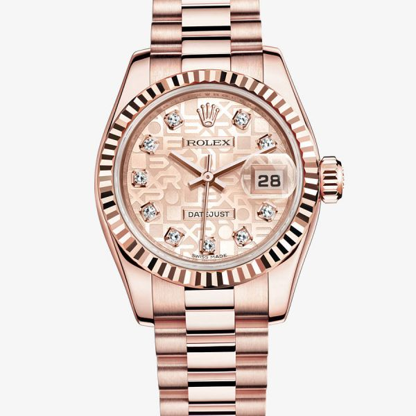 Rolex Lady-Datejust - Cadran jubilé serti de 10 diamants - 179175f-0003 environ 20 000 EUR