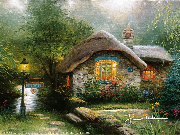 Collector's Cottage I by Thomas Kinkade
