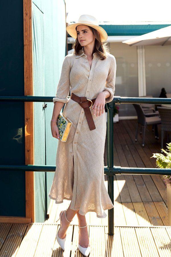 Wow! Wie großartig ist bitte dieses Kleid von Emma Watson? Hier kannst du es shoppen!
